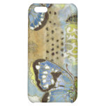 Azure Butterfly Cover For iPhone 5C