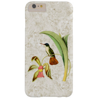 Azure Crowned Hummingbird Barely There iPhone 6 Plus Case