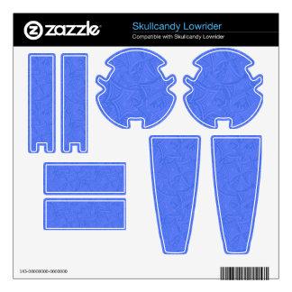 Azure curved shapes skullcandy skins