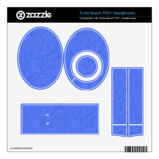 Azure curved shapes turtle beach px21 skin