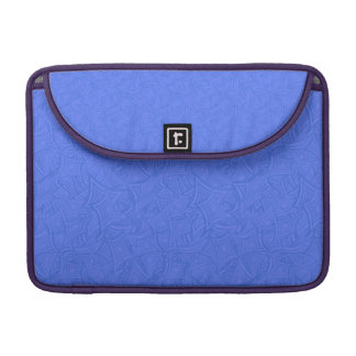 Azure curved shapes sleeve for MacBooks