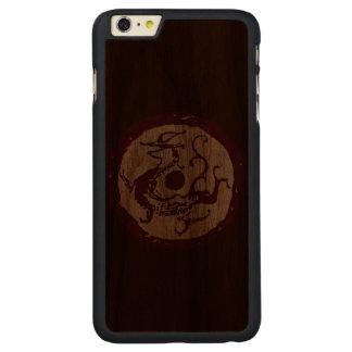 Azure Dragon Carved® Walnut iPhone 6 Plus Slim Case