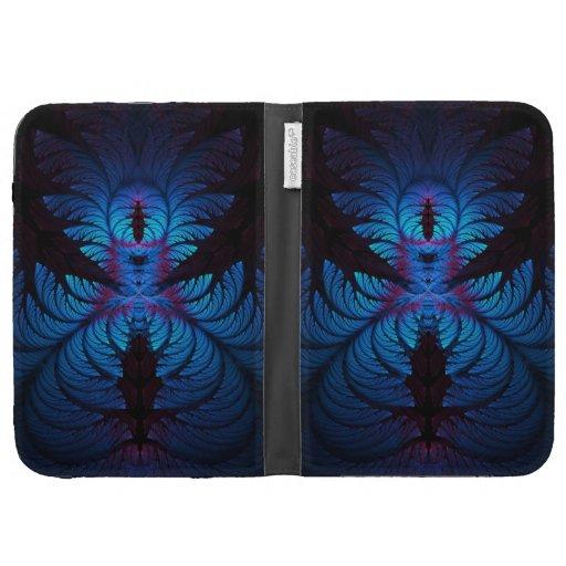 Azure Dreams Fractal Kindle Folio Kindle Case
