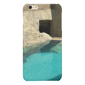 Azure dreams glossy iPhone 6 plus case