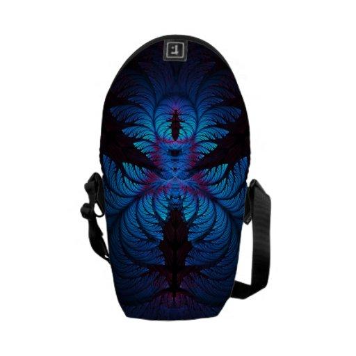 Azure Dreams Mini Messenger Bag