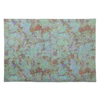 Azure Floral Placemats