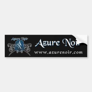 Azure Noir: BumperSticker Car Bumper Sticker