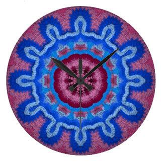 Azure Rose Crochet 2 Clocks