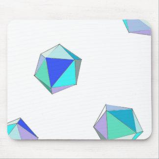 Azure Sea Glass Mousepad