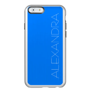 Azure Solid Color Customize It Incipio Feather Shine iPhone 6 Case