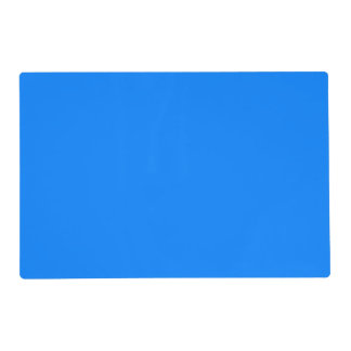 Azure Solid Color Customize It Placemat