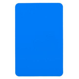 Azure Solid Color Vinyl Magnets