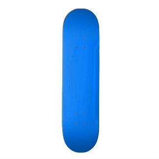 Azure Solid Color Skateboard