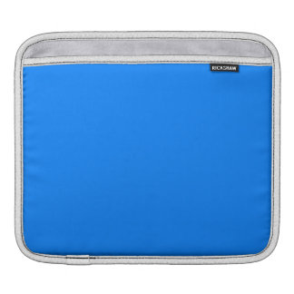 Azure Solid Color Sleeve For iPads