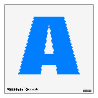 Azure Solid Color Wall Decal