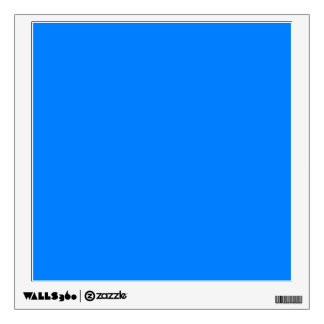 Azure Solid Color Wall Sticker