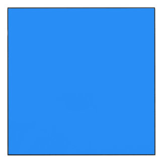 Azure Solid Color Wood Wall Art