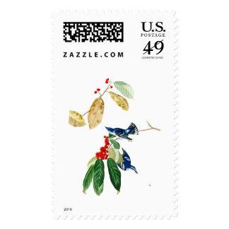 Azure Warbler John James Audubon Birds of America Stamp