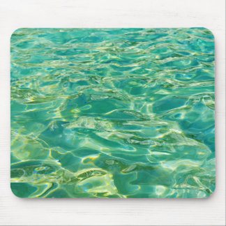 Azure water under bright noon sun mouse pad