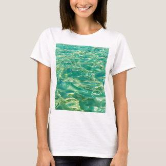 Azure water under bright noon sun T-Shirt