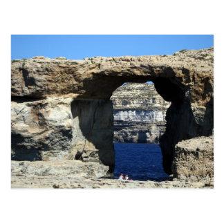 Azure Window Postcard
