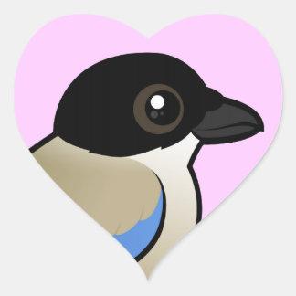 Azure-winged Magpie Sticker