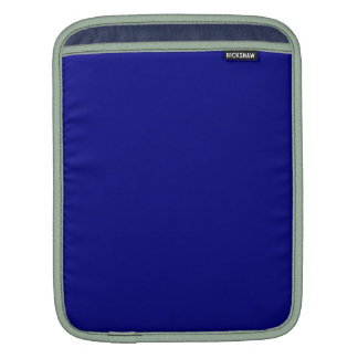 AZURITE (a solid rich blue color) ~ iPad Sleeve