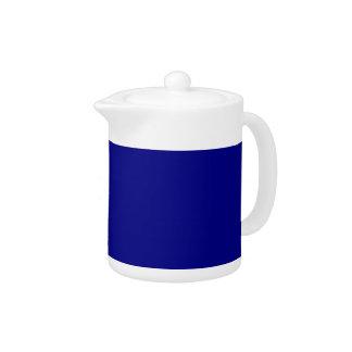 AZURITE (a solid rich blue color) ~ Teapot
