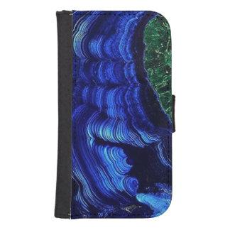 Azurite and Malachite Phone Wallet