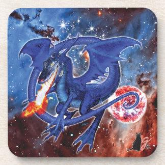 Azurite Cosmic Dragon Coaster