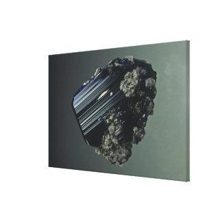 Azurite crystals, a minor ore of Copper, Tsumeb Mi Canvas Print
