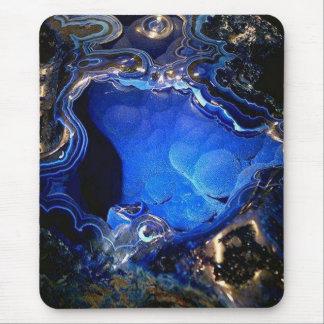 Azurite Geode Mousepad