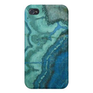 Azurite Malachite Cases For iPhone 4