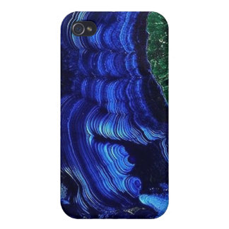 Azurite Malachite Geode iPhone4 case Covers For iPhone 4