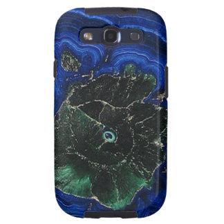 Azurite Malachite Island Samsung Galaxy SIII Case