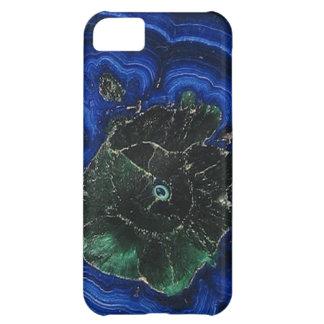 Azurite Malachite Island iPhone 5C Cover