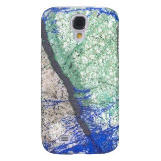 Azurite Malachite Stone Galaxy S4 Case