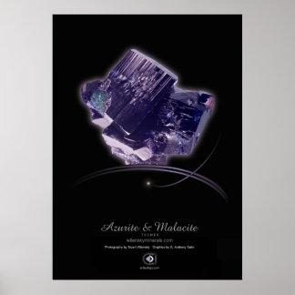 AZURITE Y MALACITE POSTER