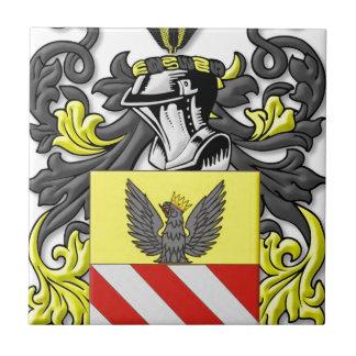 Azzariti Coat of Arms Tile