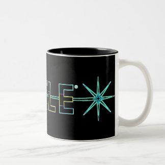 azzlelogocontest2007 Two-Tone coffee mug