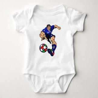 Azzurri Man Italian soccer football gift ideas Baby Bodysuit