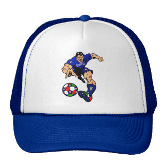 Azzurri Man Italian soccer football gift ideas Hats