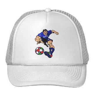 Azzurri Man Italian soccer football gift ideas Mesh Hats