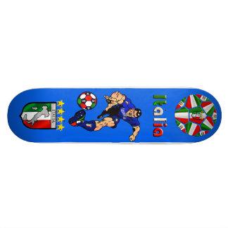 Azzurri Man Italian soccer football gift ideas Skateboard Deck