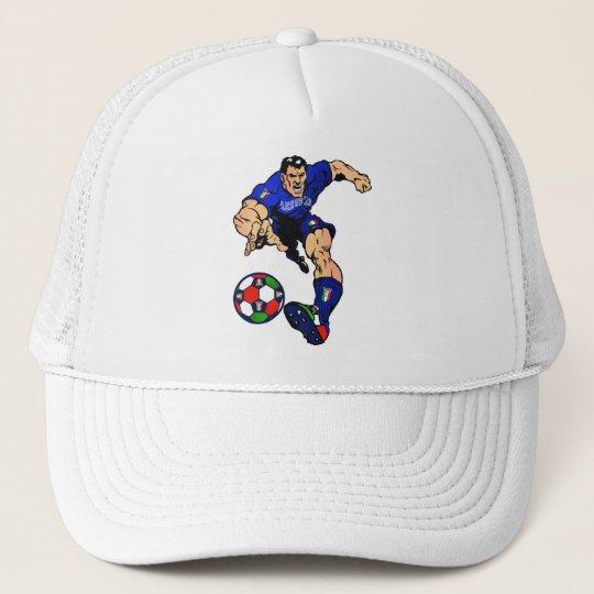 Azzurri Man Italian soccer football gift ideas Trucker Hat