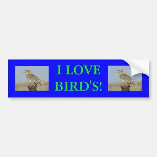 B0006 Meadowlark Bumper Sticker
