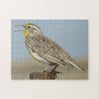 B0006 Western Meadowlark Jigsaw Puzzle