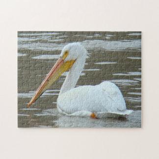 B0015 White Pelican Puzzle