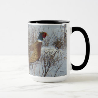 B0023 Ring-necked Pheasant mug