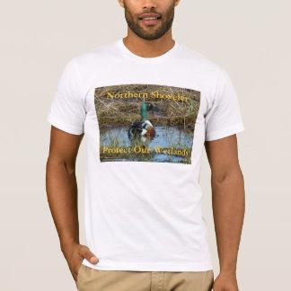 B0026 Northern Shoveler Drake T-Shirt